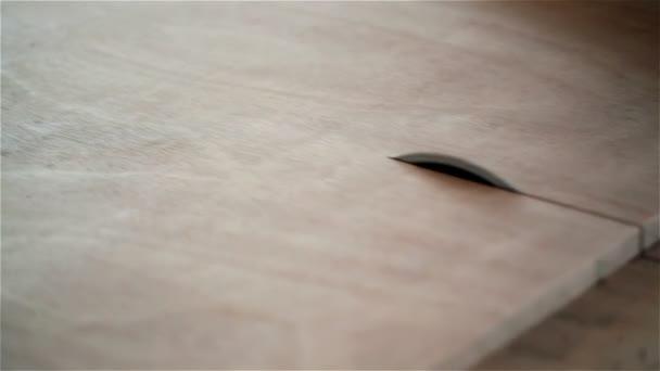 prkno viděl skrz dřevo