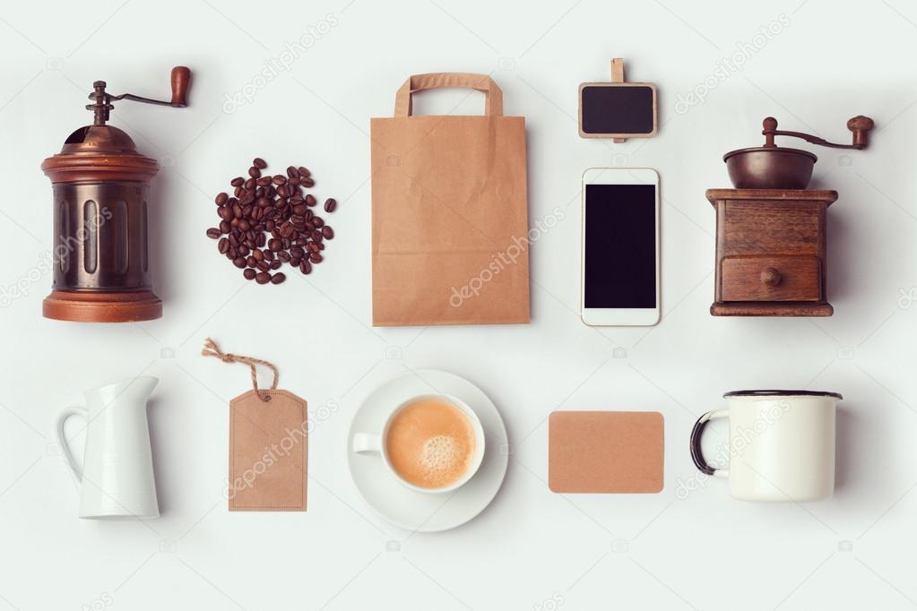 Mock-up Vorlage Coffee-shop — Stockfoto © maglara #108870902