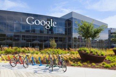 Exterior view of a Google headquarters building.