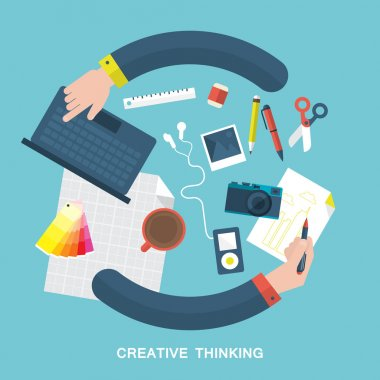 Creative thinking and design process