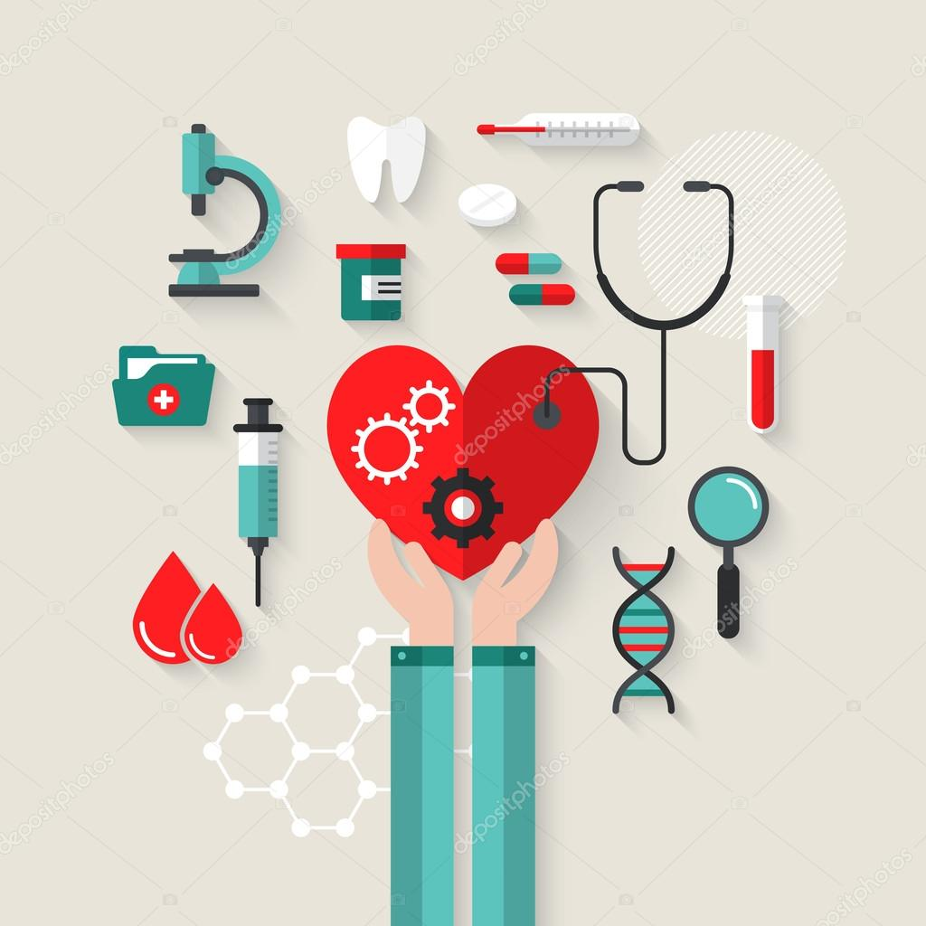 Concept for health care and medical help