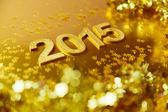 Fotografie Neujahr goldenen Hintergrund
