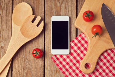 Mock up template for cooking apps