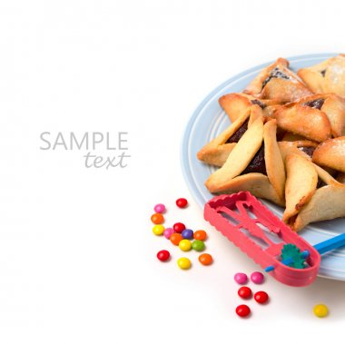 Handmade cookies on plate