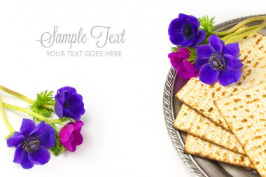 Jewish holiday passover matzo