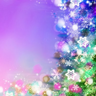 festive magical sparkles