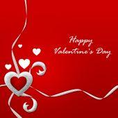 Valentýn karty se srdcem