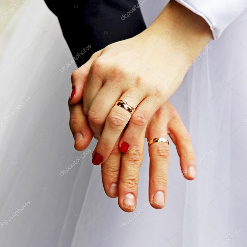 Wedding Rings Female Hands Stock Photo C Jeneva86 90891848