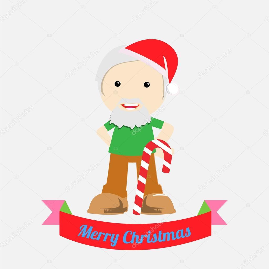 クリスマス イラスト背景色上 — ストックベクター © paularigo #58618863