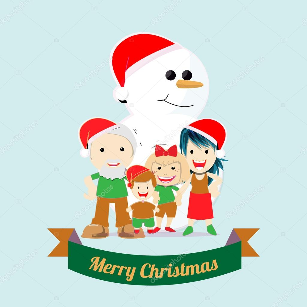 クリスマス イラスト背景色上 — ストックベクター © paularigo #58618929
