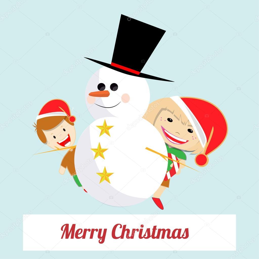 クリスマス イラスト背景色上 — ストックベクター © paularigo #58620095