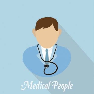 Medical people with stethoscope