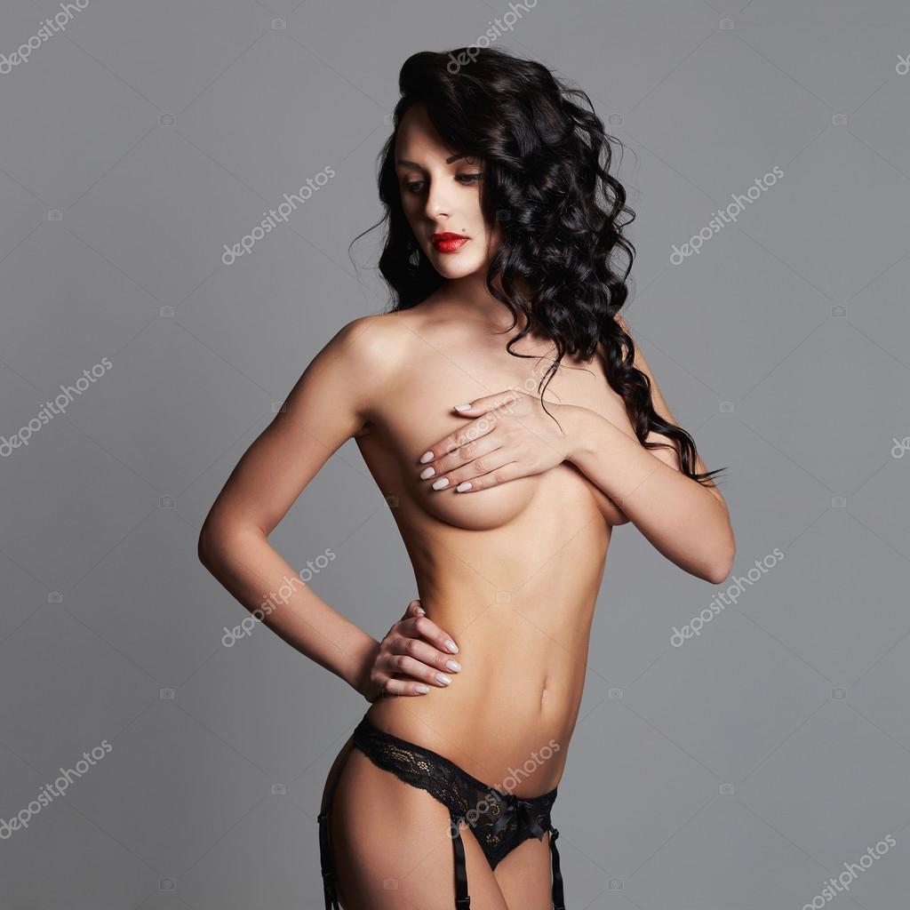 Schöne junge nackte Mädchen