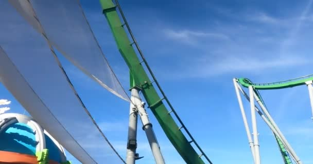 Orlando, Florida. September 15, 2021.People enjoying The Incredible Hulk roller coaster at Island of Adventure (25)