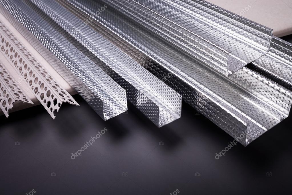 Perfil para la construcción de estructuras — Foto de stock ...