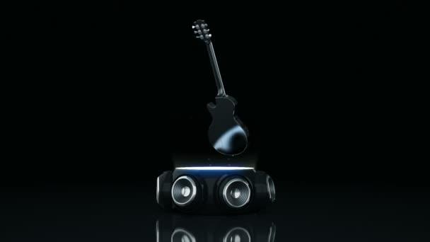 Elektromos gitár hangszóró 3d