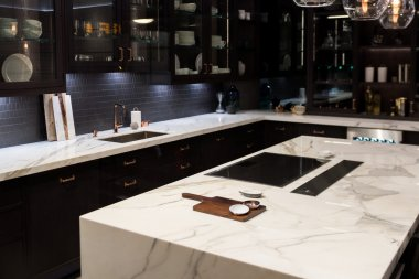 Luxury Marble Top Kitchen