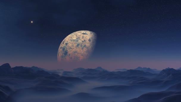 UFO a obrovská planeta