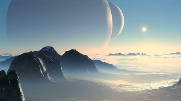 Dva měsíce a cizí planety