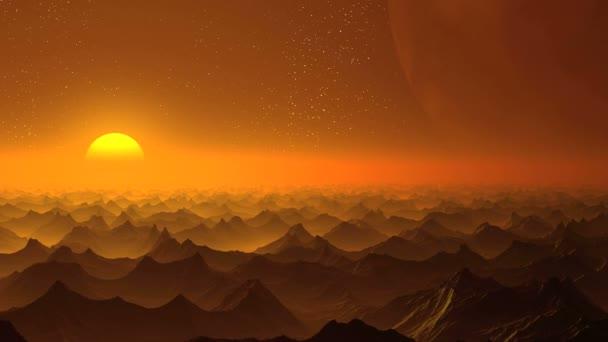 Napkelte, egy idegen bolygón, és egy hatalmas Hold
