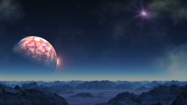 A hatalmas bolygó bemegy az árnyékok