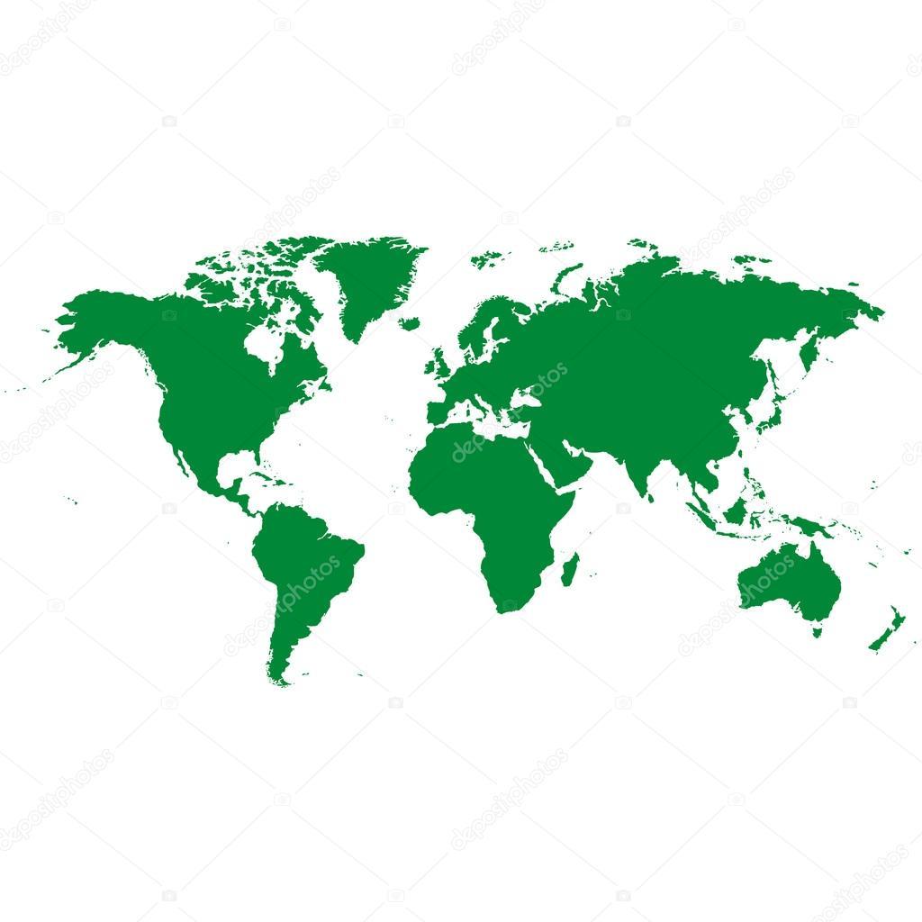 Dünya Haritası Kıta çizimi Stok Foto Tcheres 113451844