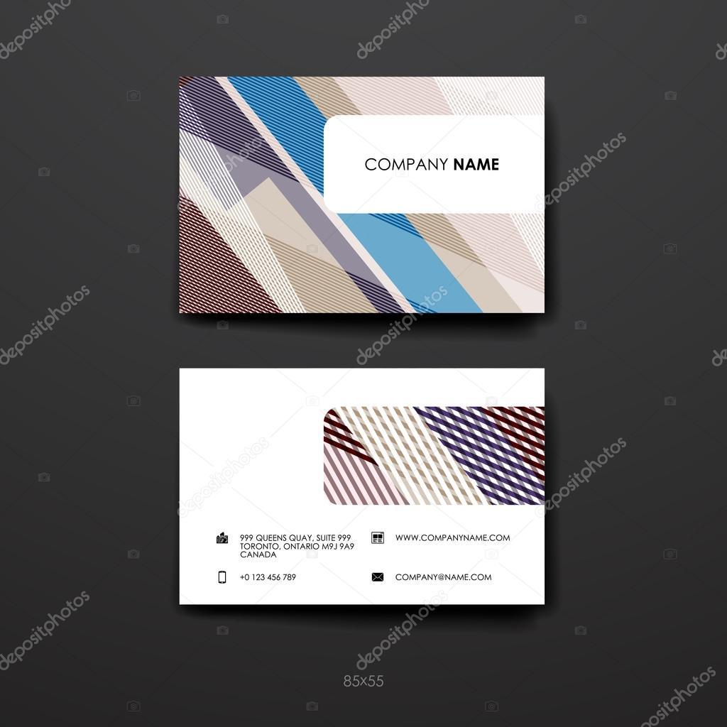 conjunto de plantillas de diseño folleto — Archivo Imágenes ...