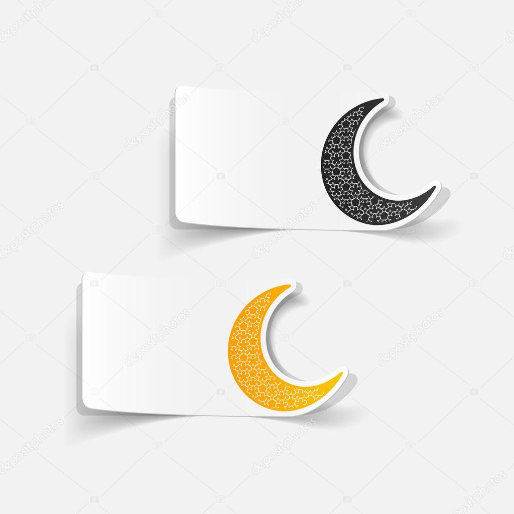 Moon Symbol Stock Vector Palau83 52167243