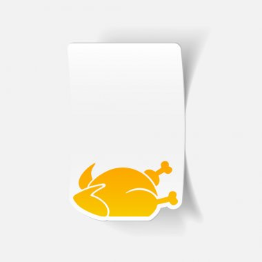 Chicken design element