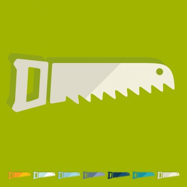 Hand saw icon