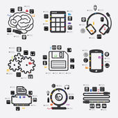 Technologie infographic