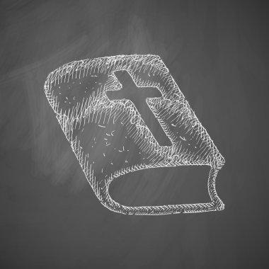 Bible icon. Vector illustration