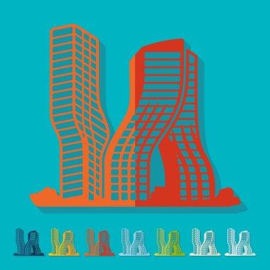 Dubai building icon
