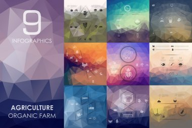 agriculture infographic background