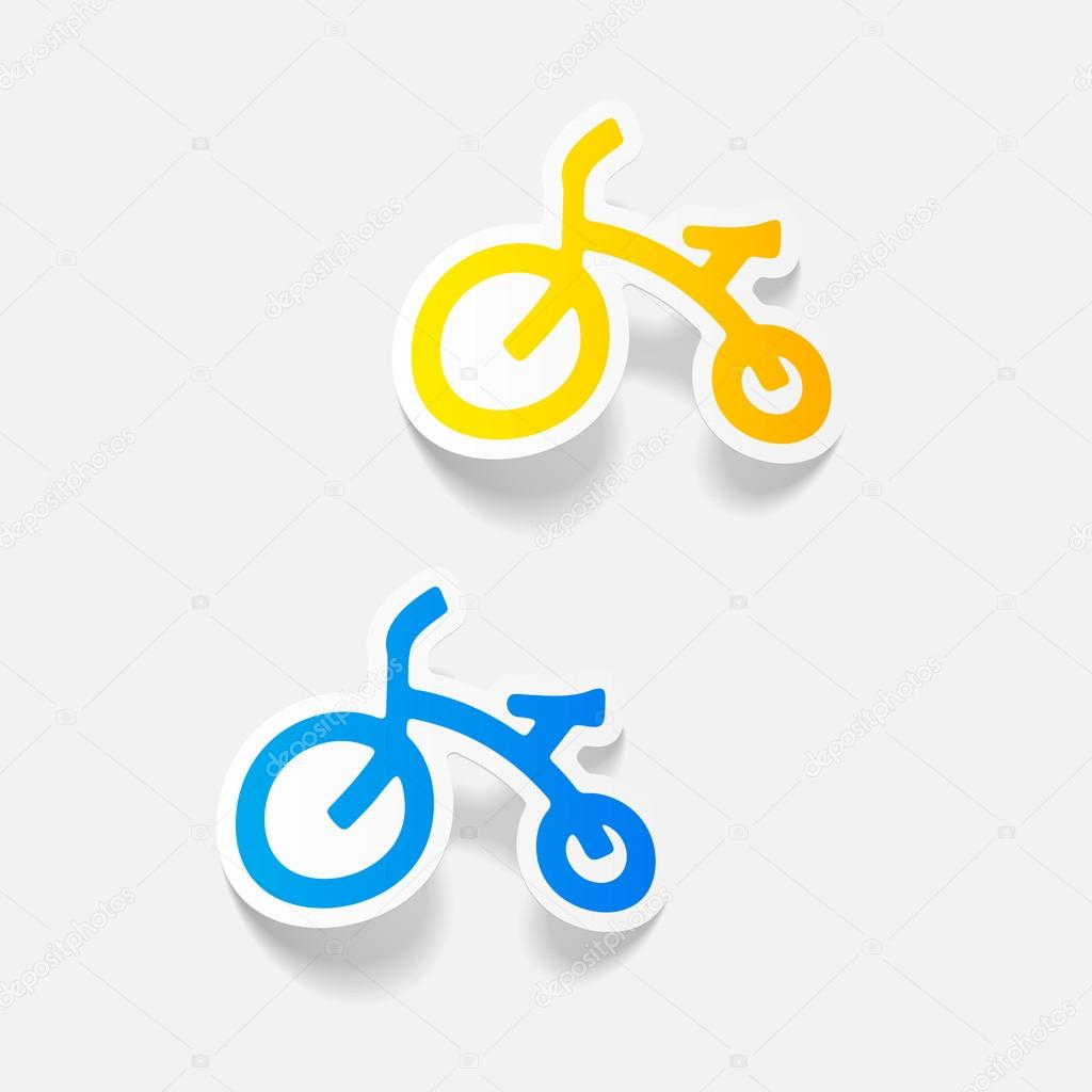Disegni Di Biciclette Per Bambini Elementi Di Disegno Di Bici Per
