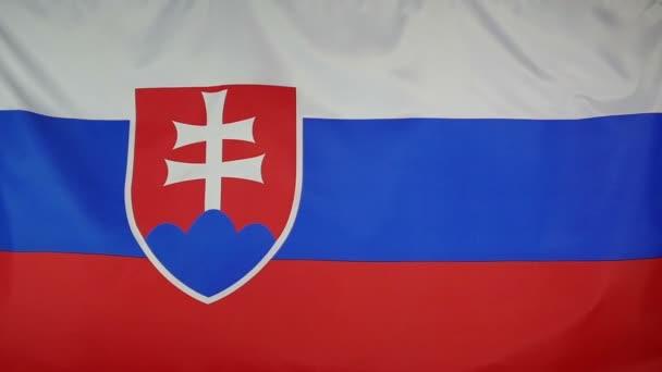 SlowMotion skutečné textilní vlajka Slovenska