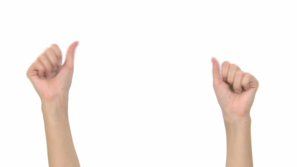 ruce dělají výrazy