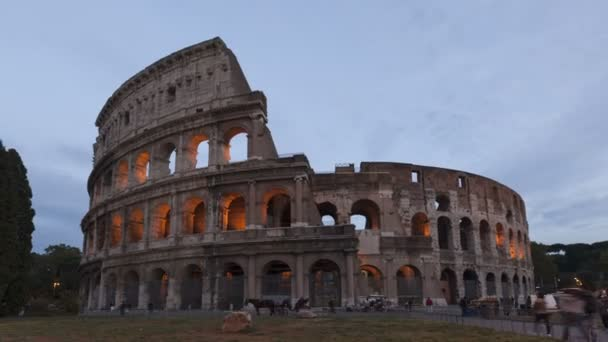 Colosseum Rome sunset, Italy