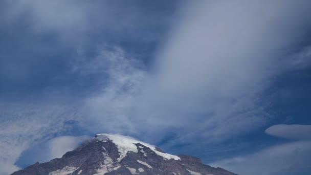 Vrchol hory Rainier