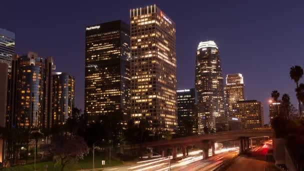 Timelapse Los Angeles Rush Hour