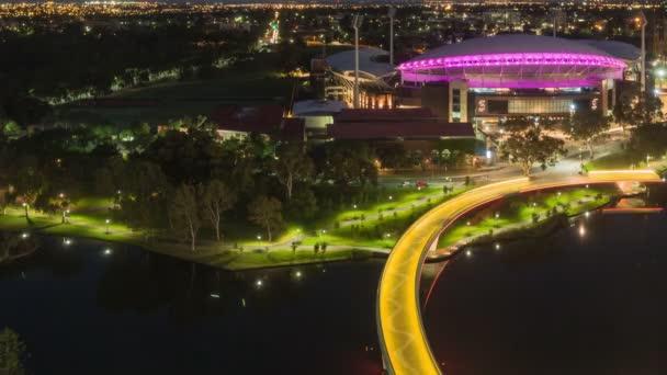 TimeLapse Adelaide ovális közelről