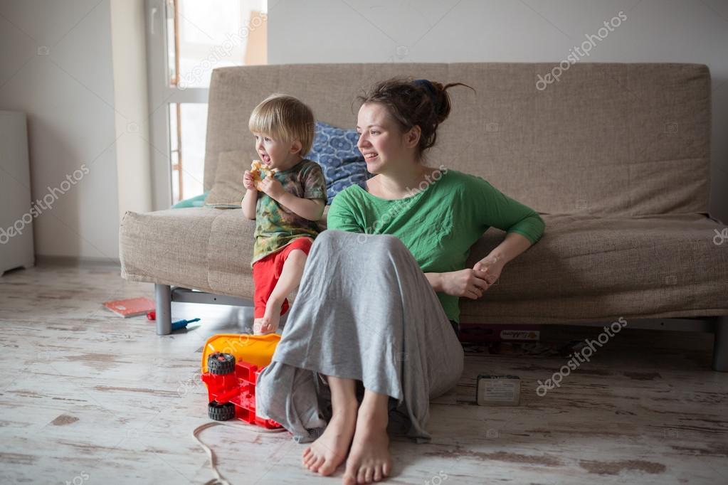 Мама научила сына ее в высоком качестве