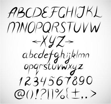 Doodle sketch fonts