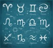 povrchní zvěrokruh symboly