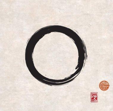 Black Zen circle