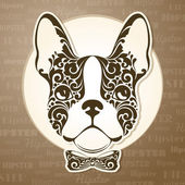 Photo Ornamental decorative dog