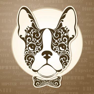 Ornamental decorative dog