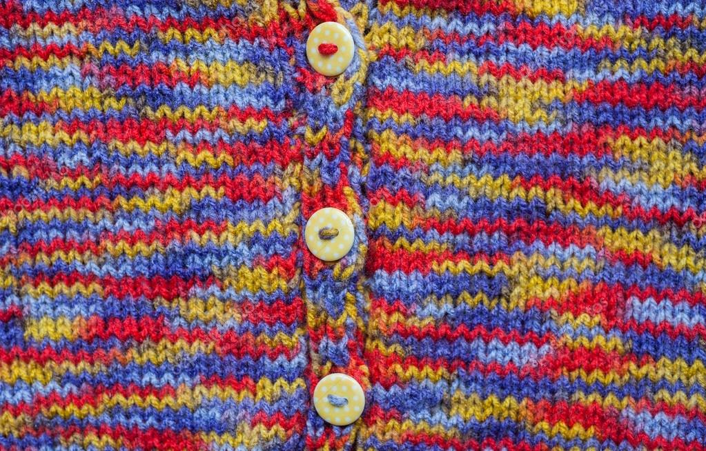Kids knitted cardigan background