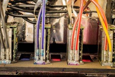 Industrial large format UV inkjet printer for printing on big sh