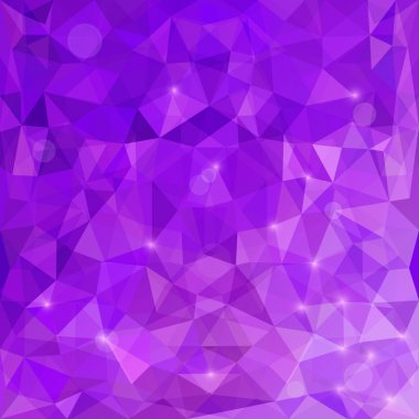 Abstract Polygonal Background. Modern Geometric Vector Illustration